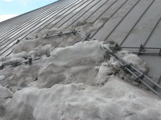 Срыв снегозадержания